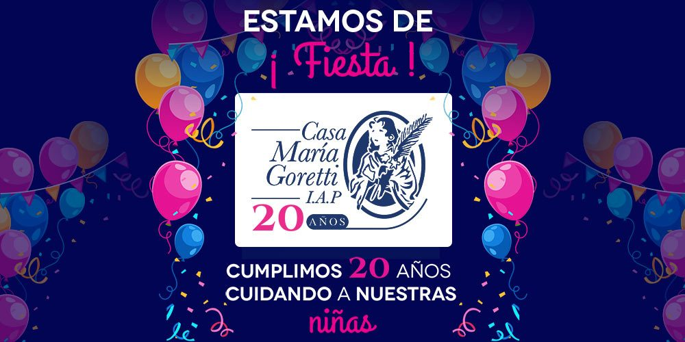20 años de la fundación de Casa María Goretti