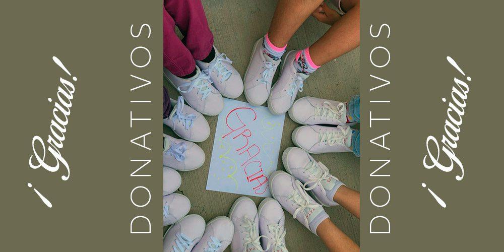 Gracias por sus donativos